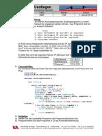 PingTool - Abschlussklausur 2014 - Fachinformatiker - Anwendungsentwicklung - 1 Klausur - Level