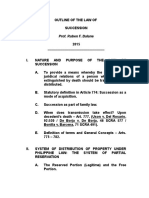 RFB-OUTLINE OF THE LAW OF SUCCESSION  2-20-12 REG FONT - FOR DLSU  8-19-15.doc