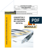 Doc (1)-Conceptos y Definiciones de Contrato Estatal