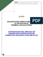 11.- Bases Administrativas ADS 020-2015