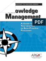 Columbia Knowledge Management APQC Book