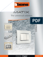Catalog MATIX - Bticino