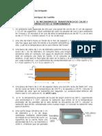 Guía de Ejercicios Transferencia de Calor y Primera Ley de La Termodinámica