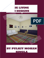 Unique Living Room Designs by Pulkit Mohan Singla