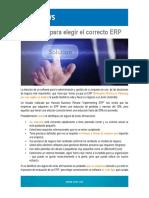 6 Pasos Para Elegir El Correcto ERP