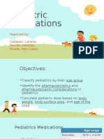 Pediatric Medications