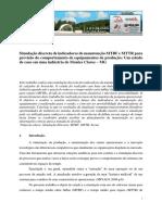 Artigo 2 - Simulação MTBF-MTTR - Emepro 2014