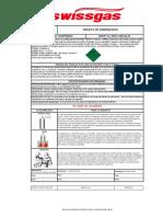 Tarjeta Emergencia - Nitrogeno Comprimido