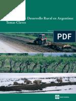 Agricultura y Desarrollo Rural en Argentina