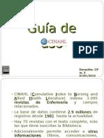 CINAHL Guía de Uso Vr. 3