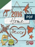 Recherché Furnishings 2016 Home Decor Catalog