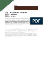 Glassa Al Cacao