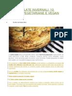 10 Torte Vegetariene
