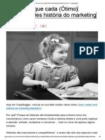 A 5 Coisas Que Cada (Ótimo) Marketing de História Precisa - Copyblogger