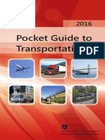 Pocket Guide to Transportation 2016