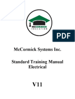 Standard Training Manual Electrical v11