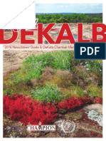 2016 DeKalb Chamber of Commerce Newcomers Guide and Membership Directory