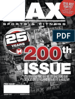 JANUARY 2016 ISSUE MAX SPORTS & FITNESS MAGAZINE