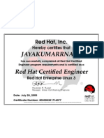 redhat certificate jayakumarrnath