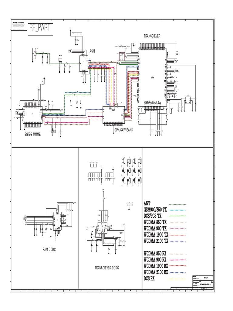 GT i9100G Service Schematics