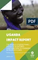 Uganda Impact Report: The World Citizens Panel