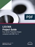 Man B&W 6L23/30A Project Guide