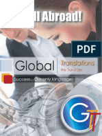 HEY… SELL ABROAD!,Global Translations