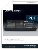SSL Matrix2 Owners Manual