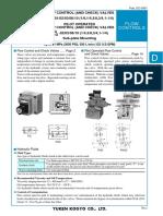 EC-0301 Yuken-Directional-Control-Valves