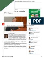 01-07-2016 Anuncia Alcalde Visita Del Gobernador ETC a Reynosa