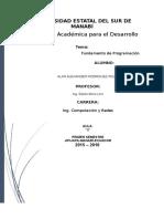 Transcripción de Conceptos Básicos de Fundamentos de Programación (1)