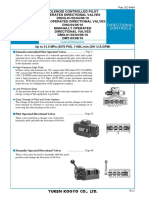 EC-0404 Yuken-Directional-Control-Valves