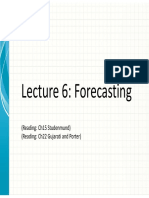 Lecture_6 forecasting
