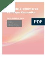Website e-commerce PT. Jaya Komunika