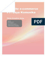 Website e-commerce PT. Jaya Komunikakill