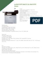 Impressora Samsung M4070FR M4070 SL_Especificaçoes