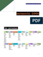 Memoria Edpac 2006