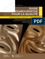 Guide Luxambourg Qualite 2013