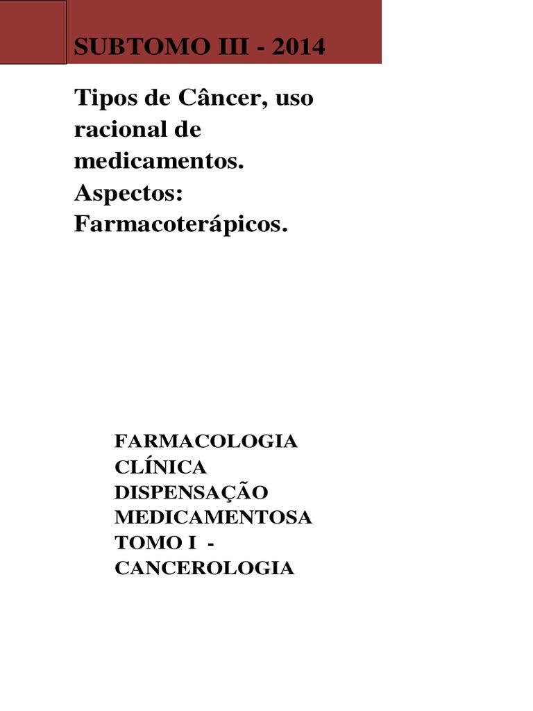 Tipos de cncer uso racional de medicamentos aspectos tipos de cncer uso racional de medicamentos aspectos farmacoterpicos fandeluxe Choice Image