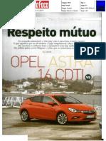 """NOVO RENAULT MÉGANE 1.6 dCi 130 FRENTE AO OPEL ASTRA 1.6 CDTI NA """"AUTO FOCO"""""""