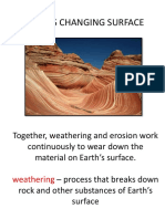earths changing surface - destructive mechanisms 2