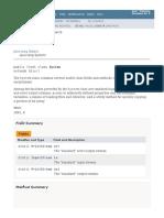 System (Java Platform SE 8 )
