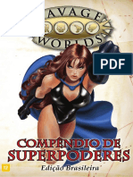 Savage Worlds - Rppeg-0004 - Compêndio de Superpoderes 2a(v0.1)