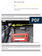 How to Replace an ABS Control Unit