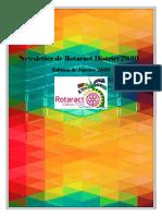 District Newsletter January 2016 (Francais)