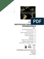 Cap. 3 Institucions financeres internacionals