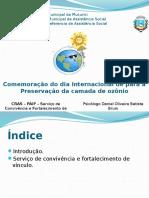 Preservação Da CamPreservação da camada de ozônio - Um olhar psicológicoada de Ozônio - Um Olhar Psicológico