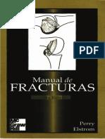 Manual de Fracturas - Perry Elstrom 2a edición