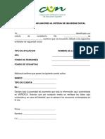Formato Autorizacion