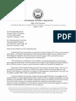 John Morgan Resignation Letter